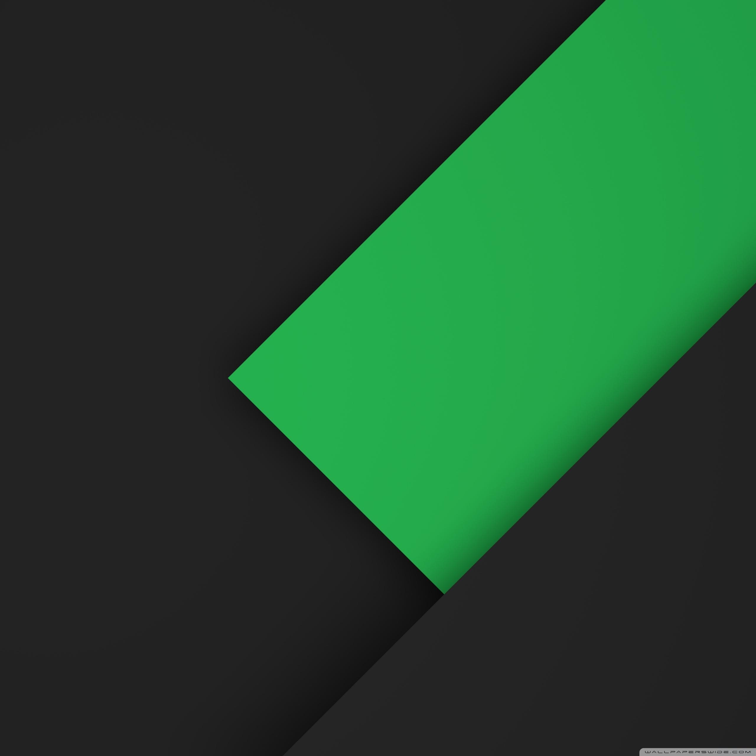 Dark Green 3d New Wallpaper