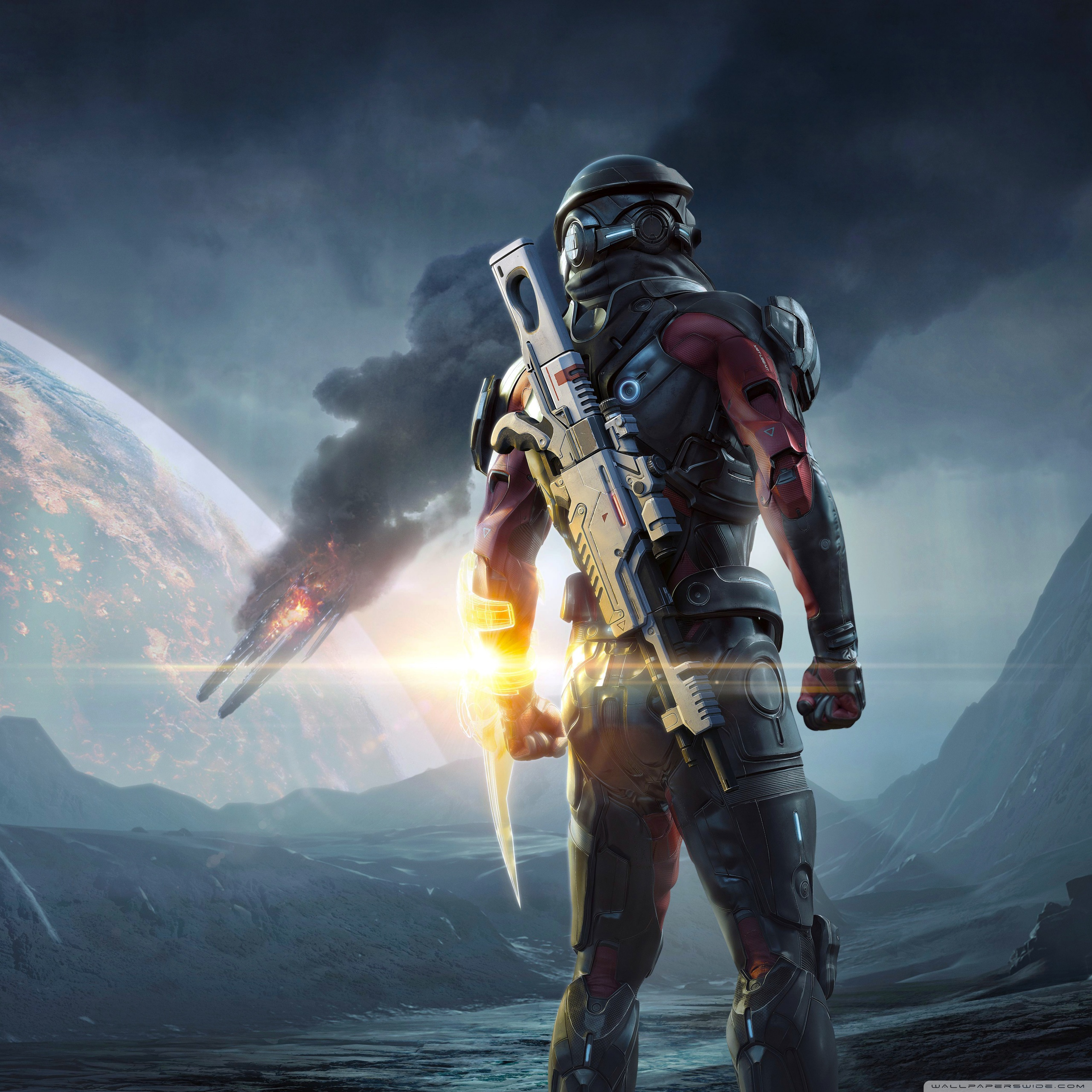 Mass Effect Andromeda 2017 Video Game 3d Hd Wallpapers