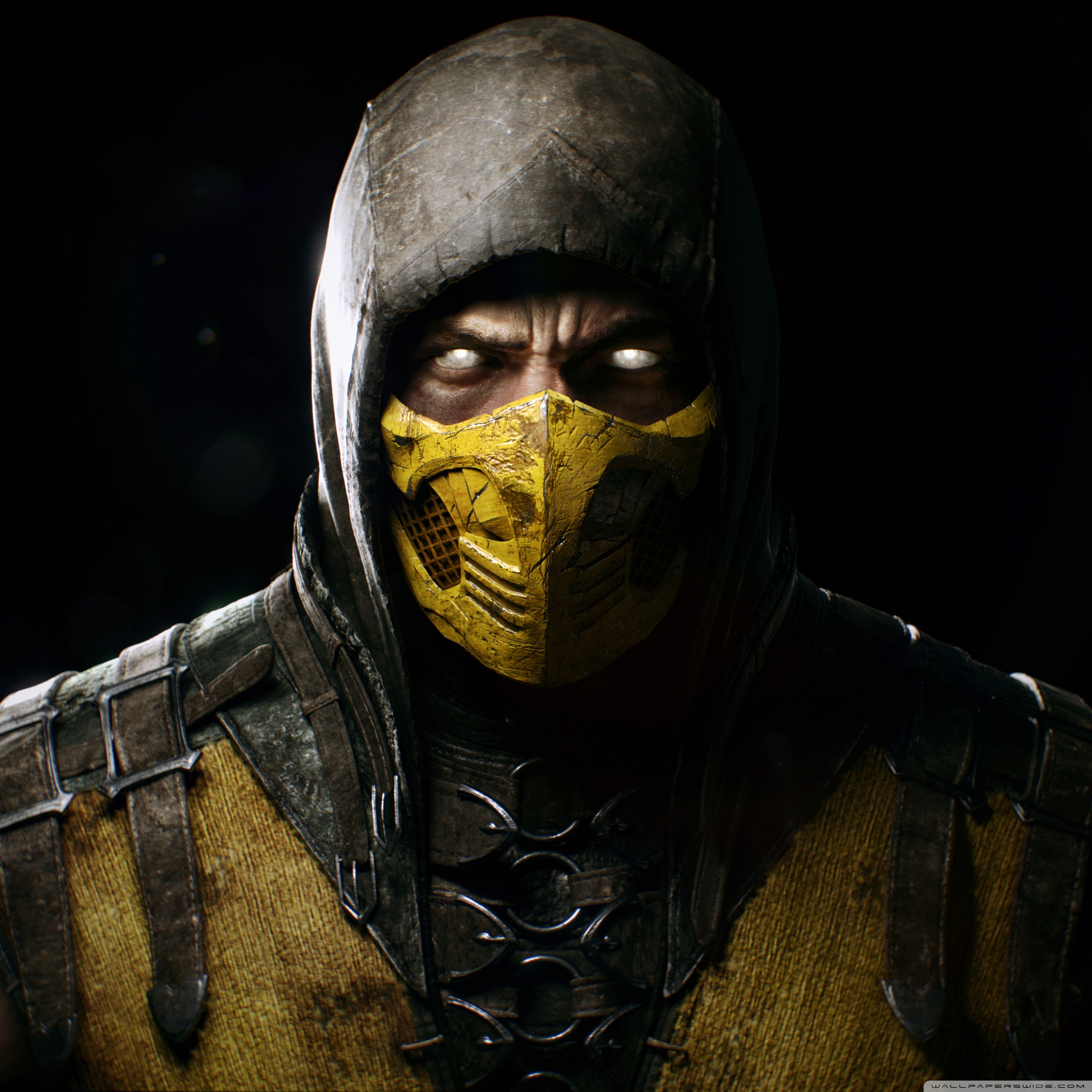 Mortal Kombat X Scorpio 3d Cool Video Games Wallpapers