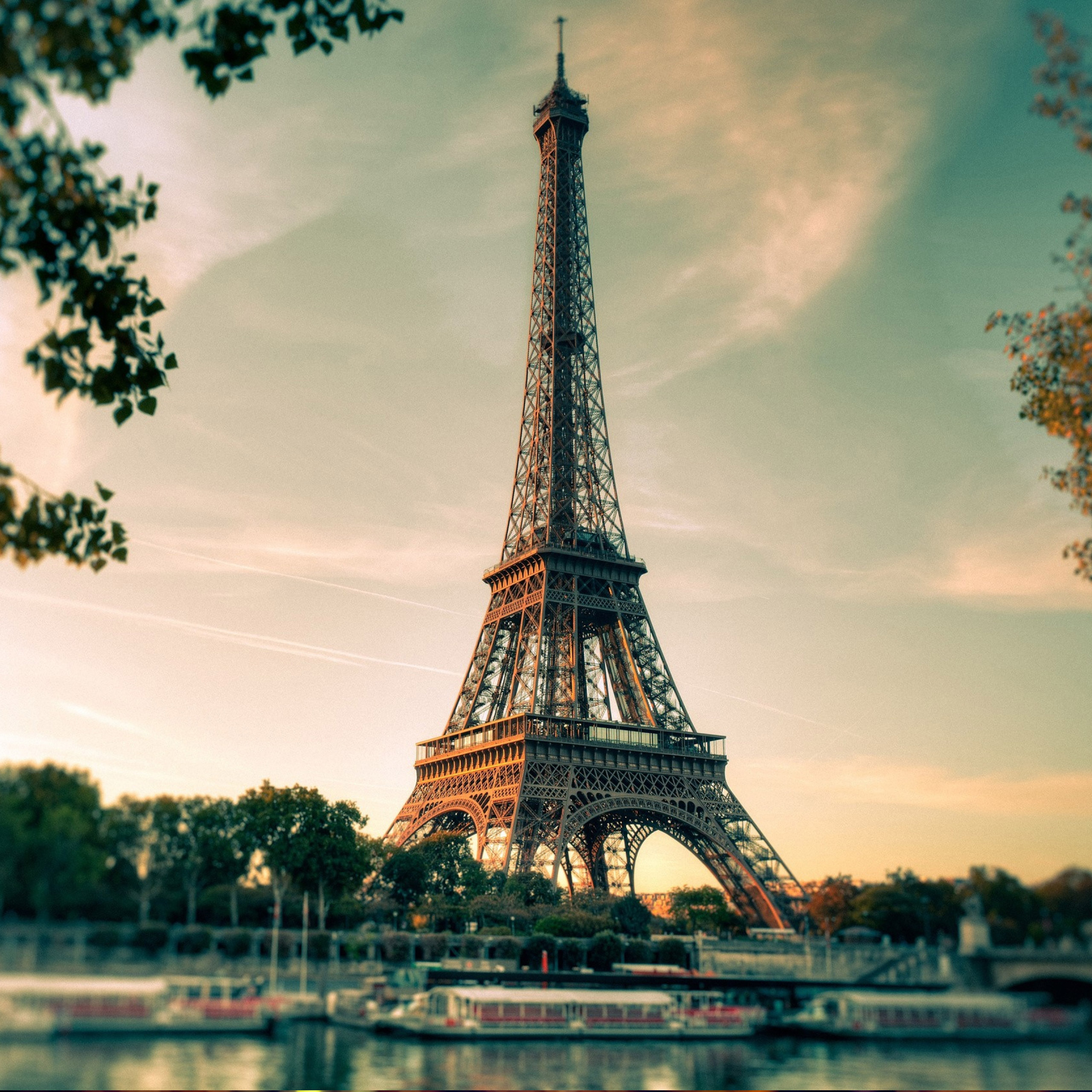 Ipod Wallpaper: Paris France Eiffel Tower Beautiful Amazing Images Full Hd