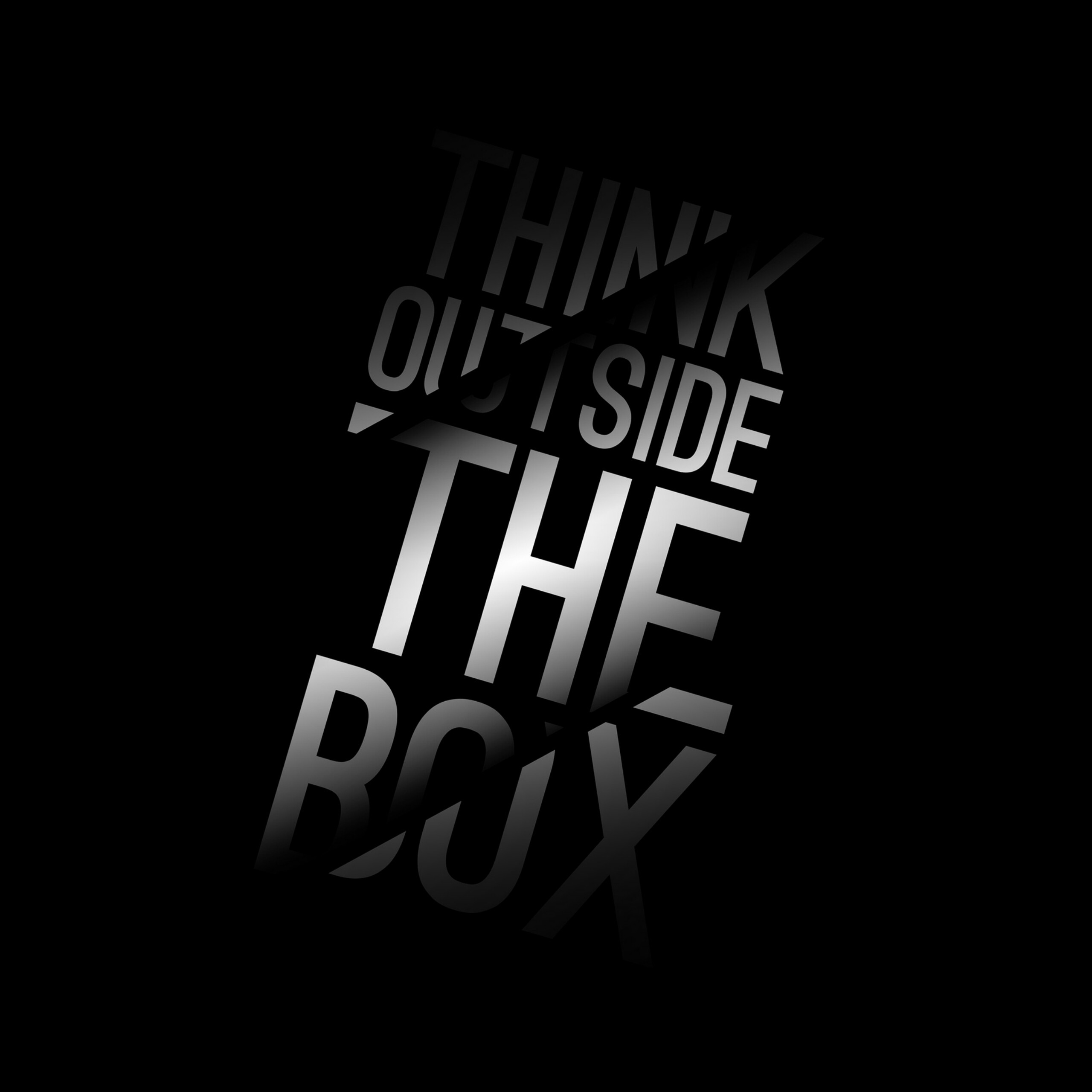 Think Out Of The Box 3D Full Hd Background