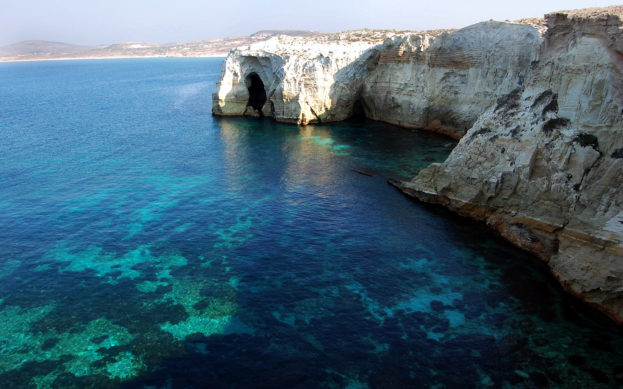 Sarakiniko Milos Island Greece Best Background Full HD1920x1080p, 1280x720p, - HD Wallpapers Backgrounds Desktop, iphone & Android Free Download