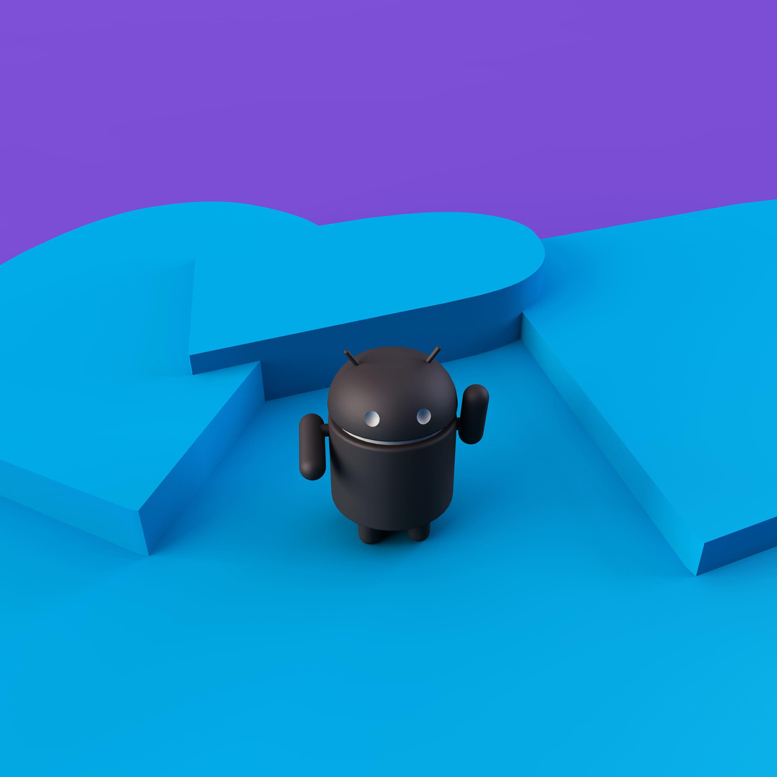 Android Robot 3d Wallpaper Design