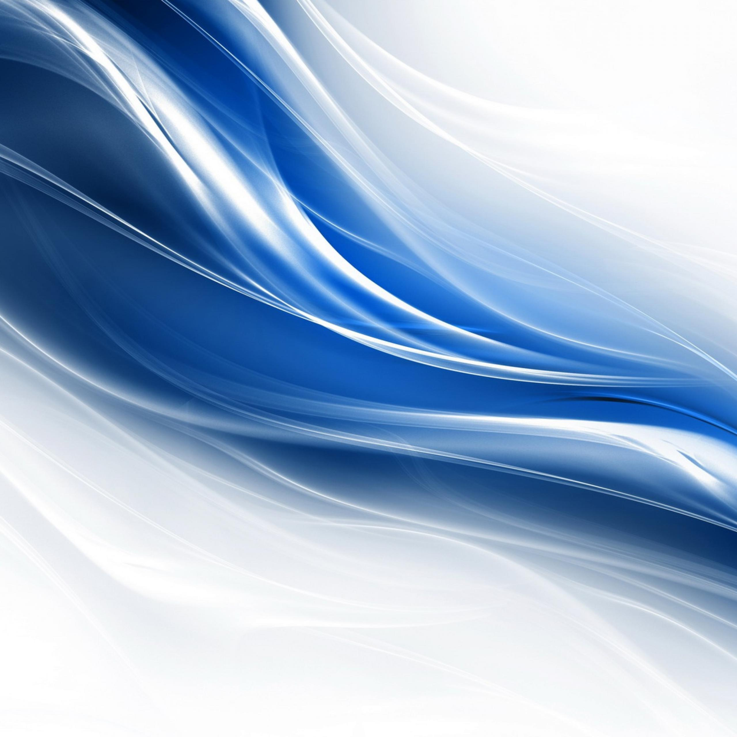 Simple Blue Abstract Wallpaper